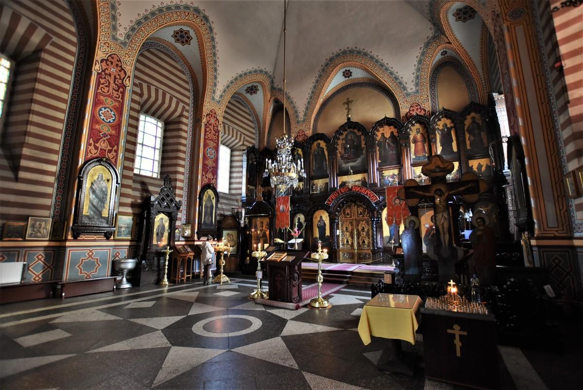 Zdjęcia: Wilno, Pojezierze Wileńskie, Wilno, Cerkiew św. Mikołaja, LITWA