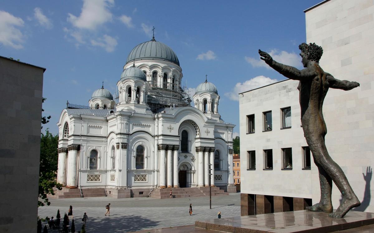 Zdjęcia: Kowno, Kościół św. Michała Archanioła w Kownie, LITWA