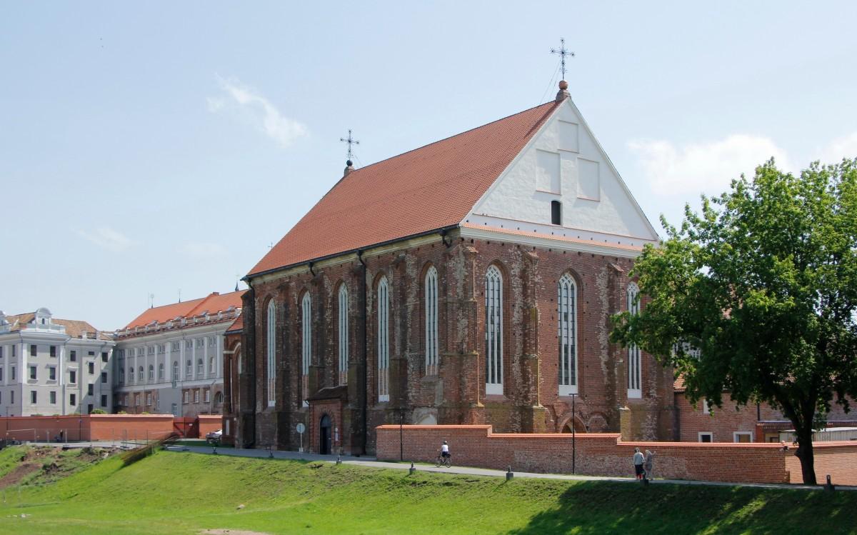 Zdjęcia: Kowno, Kościół p.w. św. Jerzego i klasztor bernardynów, LITWA