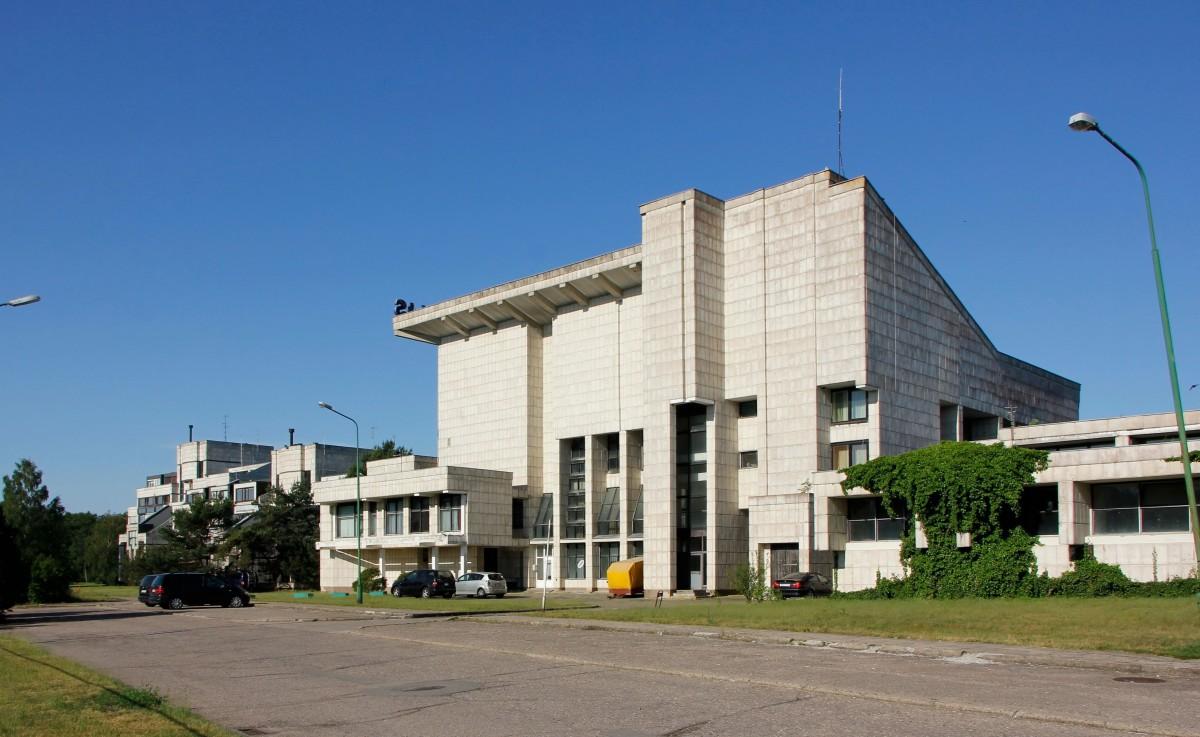 """Zdjęcia: Palanga, Sanatorium Rugelis (""""Żyto"""") z lat 80. w Połądze, LITWA"""