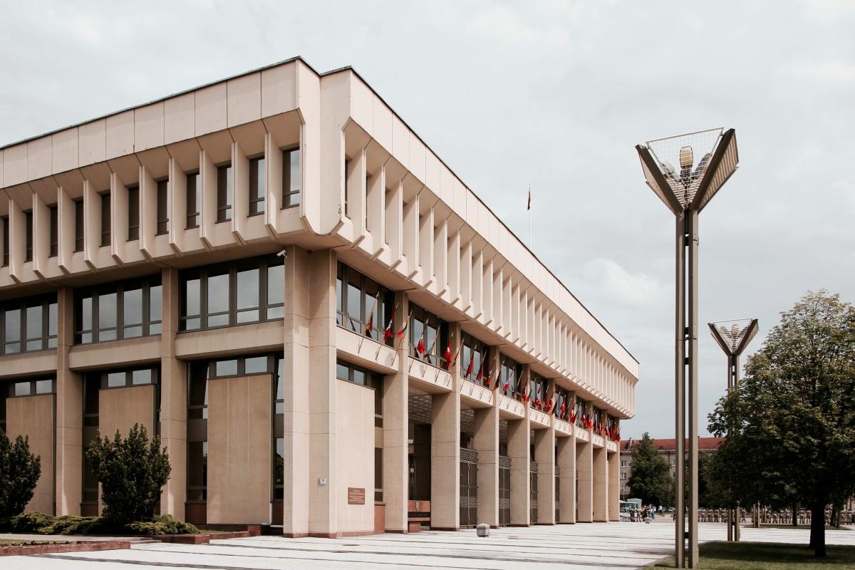 Zdjęcia: Wilno, Budynek litewskiego Sejmu, LITWA