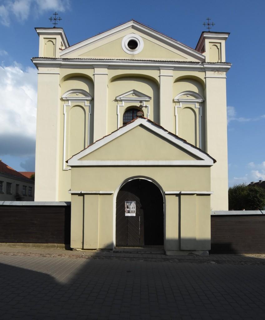 Zdjęcia: Kiejdany, Nizina Środkowolitewska, Kiejdany, kościół ewangelicki, LITWA