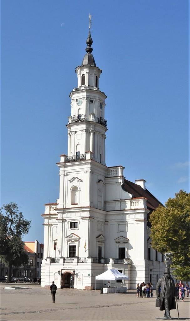 Zdjęcia: Kowno, Nizina Środkowolitewska, Kowno, ratusz, LITWA