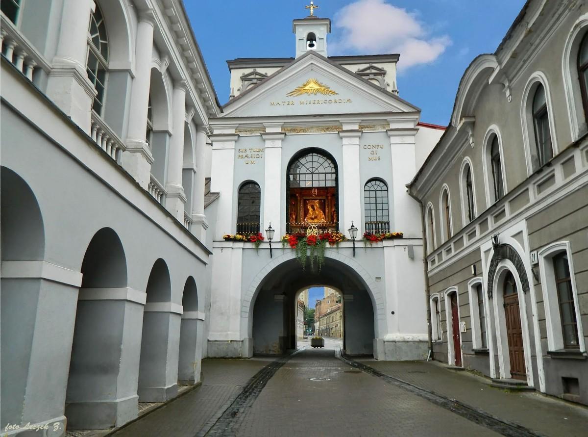 Zdjęcia: Pojezierze Litewskie., Stolica - Wilno, Wilno - Ostra Brama., LITWA