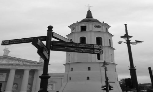 Zdjecie LITWA / - / Wilno / Katedra Św.Stan