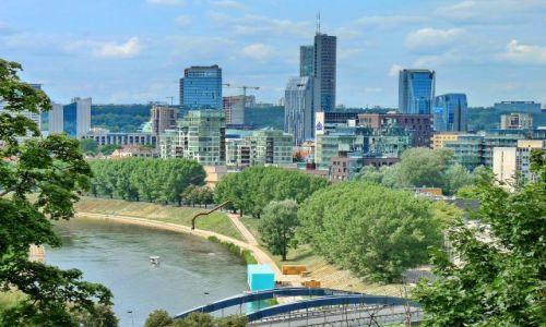 Zdjęcie LITWA / Litwa / Wilno / Wieżowce stolicy
