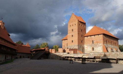 Zdjecie LITWA / - / Troki / Zamek w Trokach