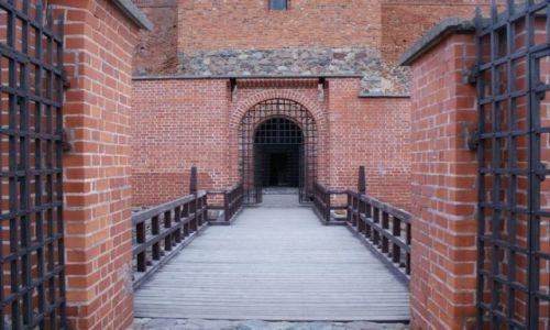Zdjęcie LITWA / - / Troki / Zamek w Trokach
