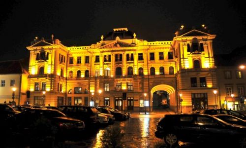 Zdjecie LITWA / Wilno / Wilno / Wilno nocą