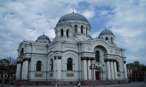 Zdjęcie LITWA / Wileńszczyzna / Kowno / Kościół Św. Michała Archanioła