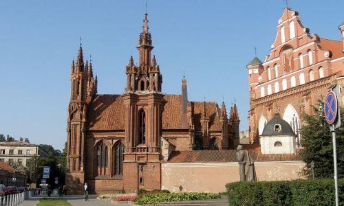 LITWA / - / Wilno / Gotyk w Wilnie