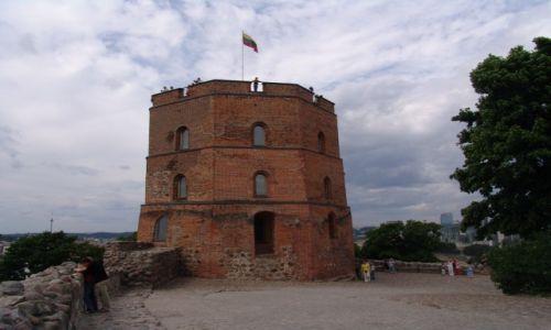 Zdjecie LITWA / Wilno / Góra Giedymina / Wieża Giedymina