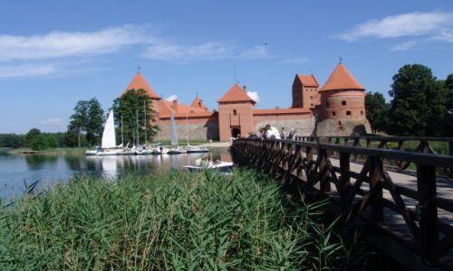 Zdjecie LITWA / Wilno / Troki (Trakai) /  Troki. Zamek na wodzie