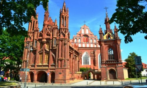 Zdjęcie LITWA / Litwa / Wilno / Kościół św. Anny