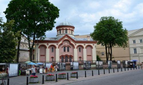Zdjecie LITWA / wileński / Wilno / Cerkiew św. Praskiewy