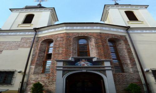 Zdjecie LITWA / okręg wileński / Wilno / Sanktuarium w niewielkim kościele