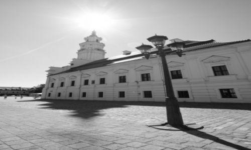 Zdjecie LITWA / Litwa Środkowa / Kowno / Ratusz w słońcu