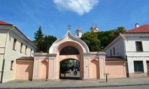Zdjęcie LITWA / okręg wileński / Wilno / Wejście do cerkwi