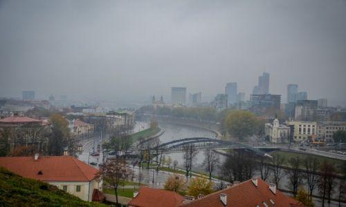 LITWA / Wilno / Wilno / Panorama Wilna z wieży Giedymina