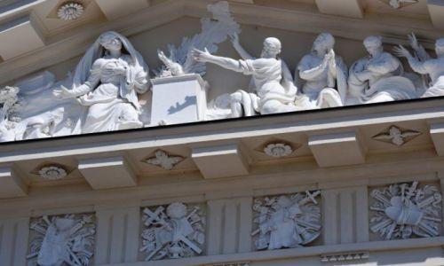 Zdjęcie LITWA / okręg wileński / Wilno / Szczegóły katedry