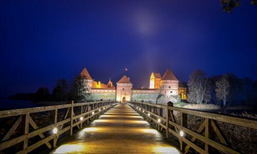 LITWA / Wilno / Troki / Zamek w Trokach