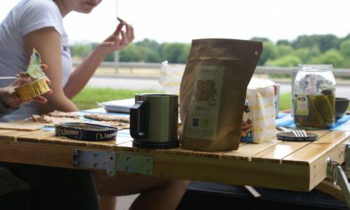 LITWA / miasto / Kowno / Pierwszy posiłek na obczyźnie