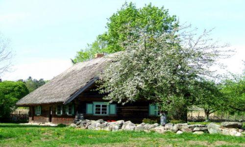 Zdjecie LITWA / Rumszyszki / skansen / przeniesiona w