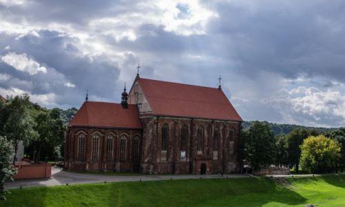 Zdjecie LITWA / - / Kowno / Tam gdzie Wilia wpływa do Niemna