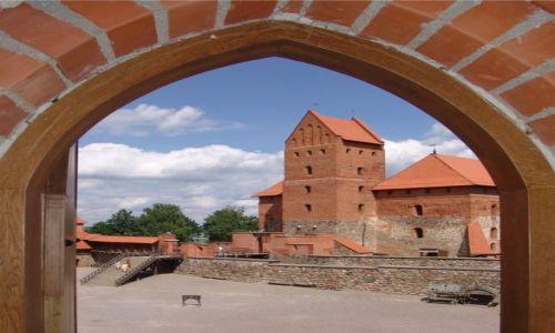 Zdjęcie LITWA / Troki / Jezioro Galwe / Zamek