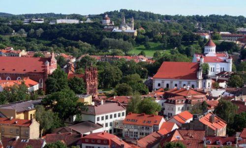 Zdjęcie LITWA / *** / starówka miasta / Wilno