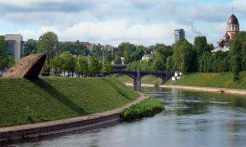 Zdjecie LITWA / *** / Wilno / Most Zwierzyniecki,Wilno