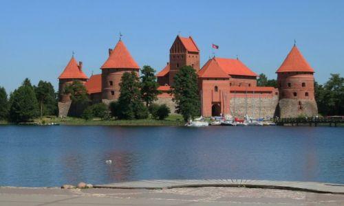 Zdjecie LITWA / *** / Trakai_Troki / Zamek w Trokach (Trakų pilis)