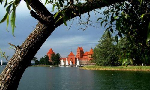 Zdjęcie LITWA / *** / Trakai_Troki / Zamek w Trokach (Trakų pilis)