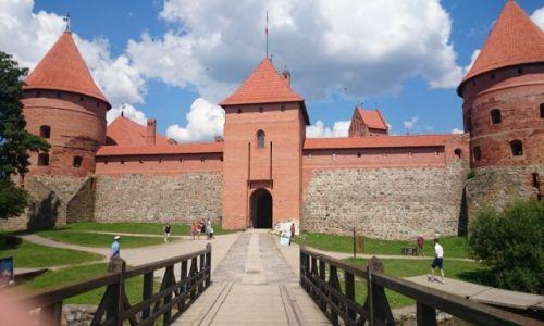 Zdjęcie LITWA / Litwa / Trakai / Zamek w Trokach