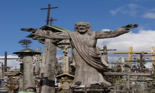 Zdjęcie LITWA / - / Szawle / Na Górze Krzyży
