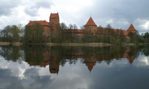 Zdjęcie LITWA / okolice Wilna / Troki / zamek na wyspie