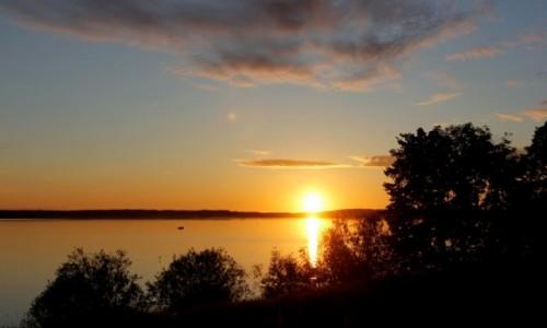 Zdjęcie LITWA / Okręg mariampolski / Zirgenai / Jezioro Wisztynieckie