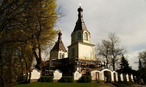 Zdjęcie LITWA / okolice Wilna / Troki / cerkiew prawosławna