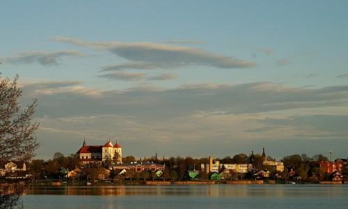 Zdjęcie LITWA / okolice Wilna / Troki / panorama miasta