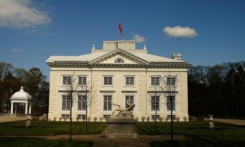 Zdjęcie LITWA / okolice Wilna / Troki / pałac Tyszkiewiczów