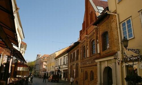 Zdjęcie LITWA / WIlno / Wilno / ulica Zamkowa