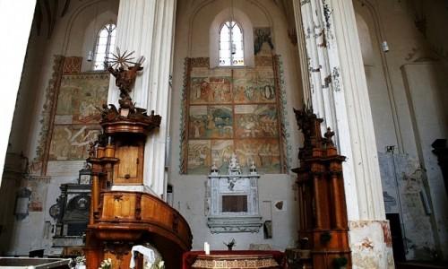 Zdjęcie LITWA / WIlno / Wilno - Zaułek Bernardyński / kościół  św. Franciszka