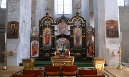 Zdjęcie LITWA / WIlno / Wilno / cerkiew św. Trójcy