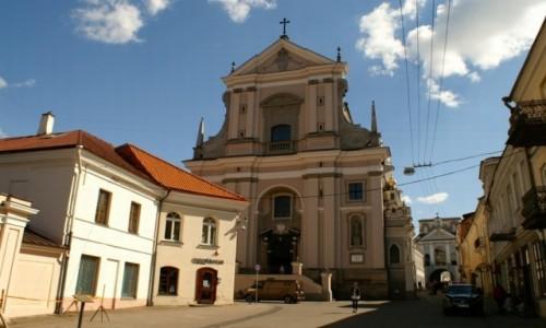 Zdjęcie LITWA / WIlno / Wilno / kościół  św. Teresy