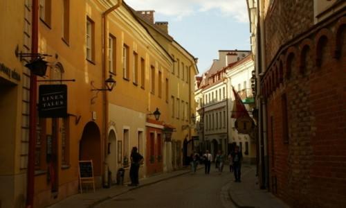 Zdjęcie LITWA / WIlno / Wilno / ulica Szklana