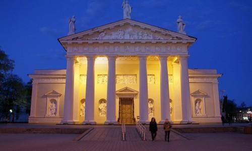 Zdjecie LITWA / WIlno / Wilno / katedra �w. Sta