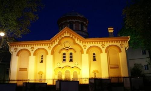 Zdjęcie LITWA / WIlno / Wilno / cerkiew św. Paraskewy