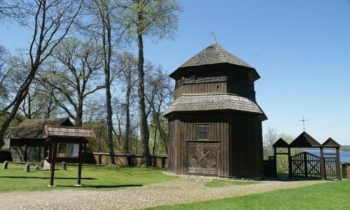 Zdjęcie LITWA / Auksztocki Park Narodowy / Paluse / kościół św. Józefa - dzwonnica