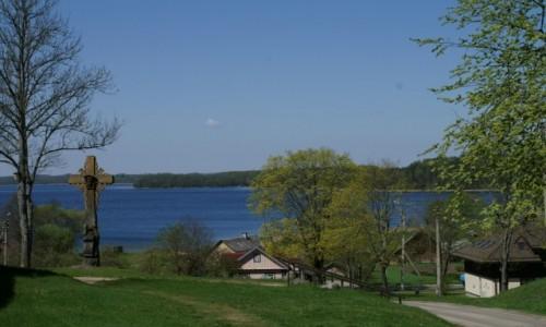 Zdjecie LITWA / Auksztocki Park Narodowy / Paluse / widok na jezior