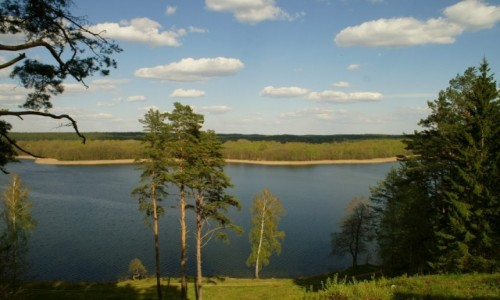 Zdjęcie LITWA / Auksztocki Park Narodowy / okolice Ignalina / pojezierze auksztockie